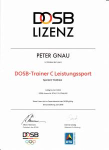 C-Trainer Lizenz PG