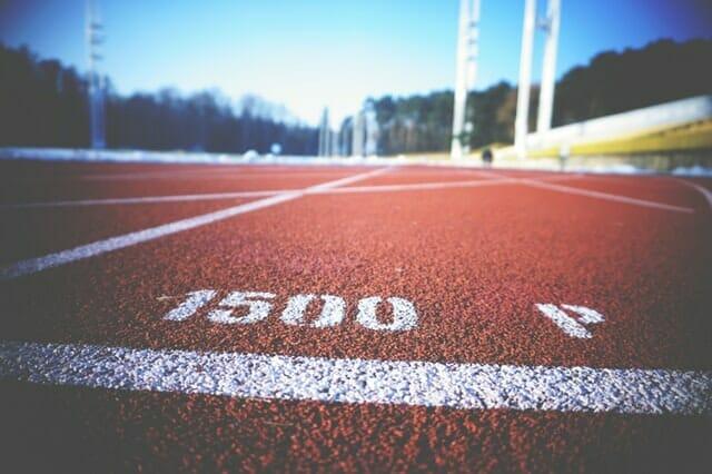 Laufbahn 1500m