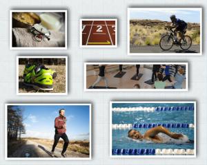 Trainingslager Collage