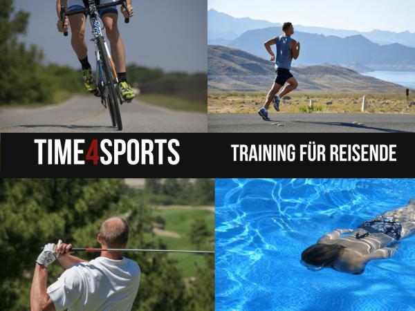 Time4Sports Training für Reisende