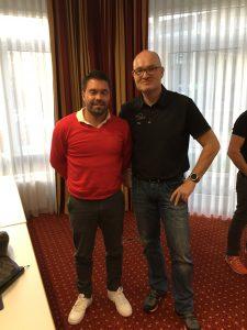 Niclas Tyroff mit Peter Gnau